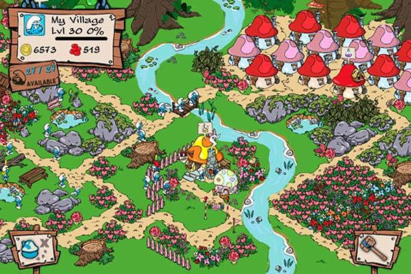 The Smurfs, los Pitufos vuelven en un juego para iPhone que lleva 10 millones de descargas