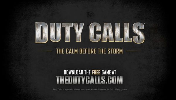 Duty Calls, Epic parodia la saga Call of Duty para promocionar BulletStorm