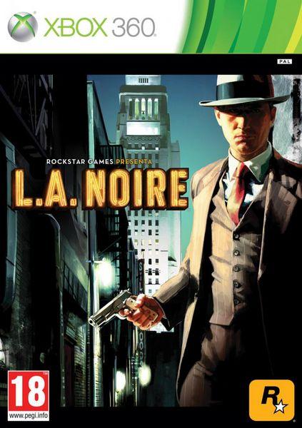 L.A. Noire, RockStar muestra las carátulas de L.A. Noire para Xbox 360 y PS3