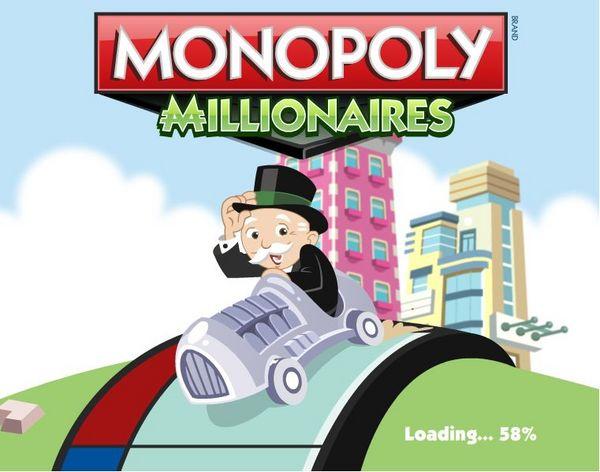 Monopoly Millionaires, juega gratis en Facebook al clásico juego de mesa Monopoly