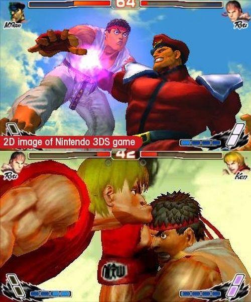 Super Street Fighter IV 3D, nuevas imágenes de este juego de lucha para 3DS
