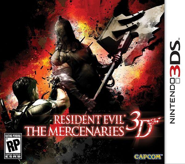 Resident Evil: The Mercenaries 3D, fecha de salida y trailer del este juego para 3DS