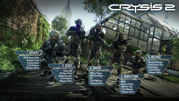 Crysis 2 Ps3 Descarga Gratis La Demo De Este Juego De Disparos Para