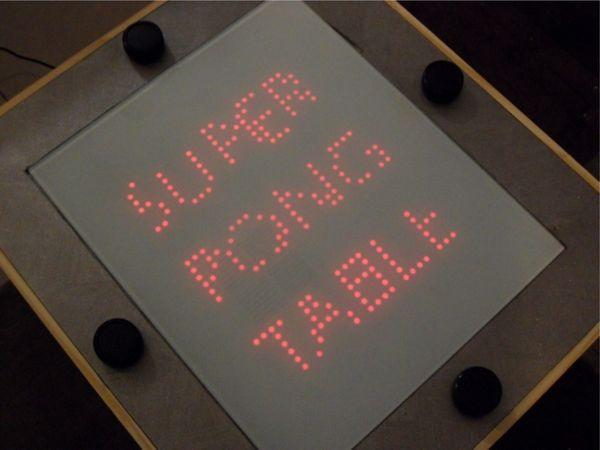 Super Pong Table, el clásico Pong disponible para cuatro jugadores simultáneos