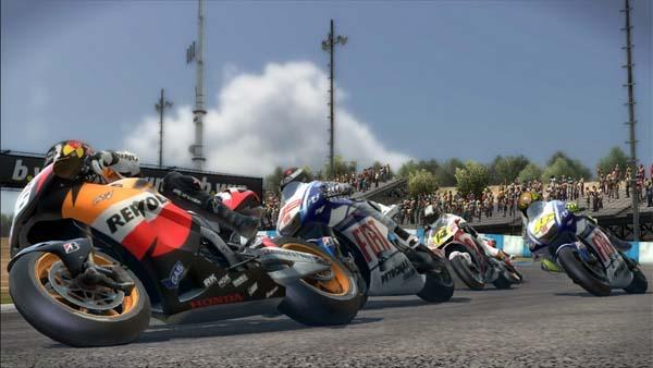 MotoGP 10/11, nuevo vídeo de lanzamiento del juego de carreras MotoGP 10/11