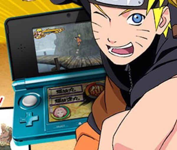 Naruto, salen a la luz imágenes del nuevo juego de este personaje para Nintendo 3DS