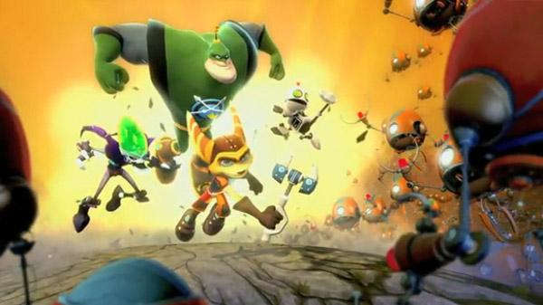 Ratchet & Clank: All 4 One, un tráiler nos muestra que encarnaremos a los héroes y al villano