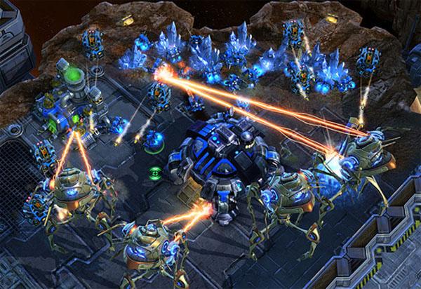 Starcraft II, añaden nuevos mapas a este juego de estrategia