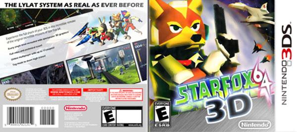 Star Fox, confirmada fecha de lanzamiento del juego de naves espaciales Star Fox 64 para 3DS