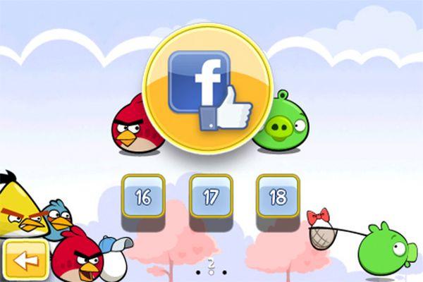 Angry Birds, Rovio anuncia una versión del juego Angry Birds para Facebook