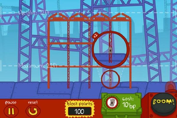Demolition City! para iPhone, el simulador de demoliciones encabeza las descargas gratuitas