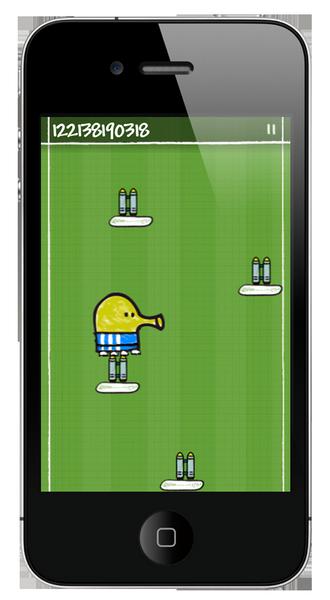 Doodle Jump, este adictivo juego de plataformas para iPhone saldrá en Xbox 360