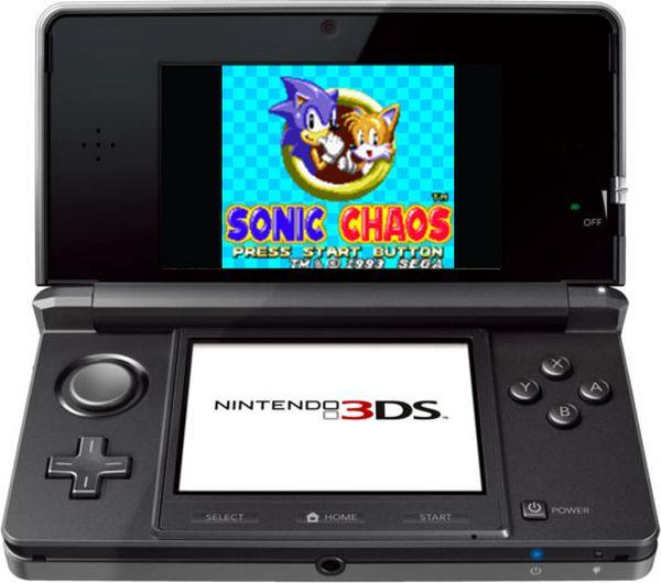 3DS, lanzarán juegos de la mítica consola Game Gear de Sega para la 3DS