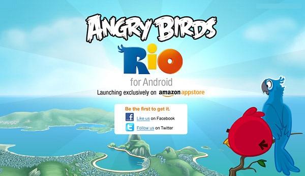 Angry Birds: Rio, el nuevo juego de los Angry Birds en exclusiva para Amazon