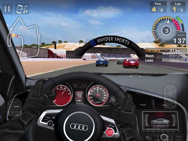 gt racing motor academy descarga gratis este juego de conducci n para ipad. Black Bedroom Furniture Sets. Home Design Ideas