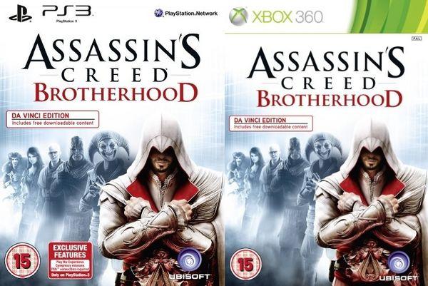 Assassin's Creed: La Hermandad, Ubisoft anuncia la Da Vinci Edition para el 25 de marzo