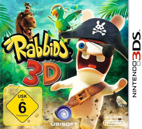 Rabbids 3D, ya a la venta este juego de plataformas y aventuras para la 3DS