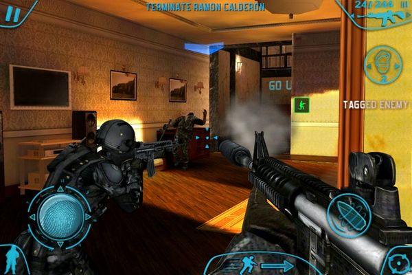 Rainbow Six: Shadow Vanguard, trailer del último juego de Gameloft para iPhone