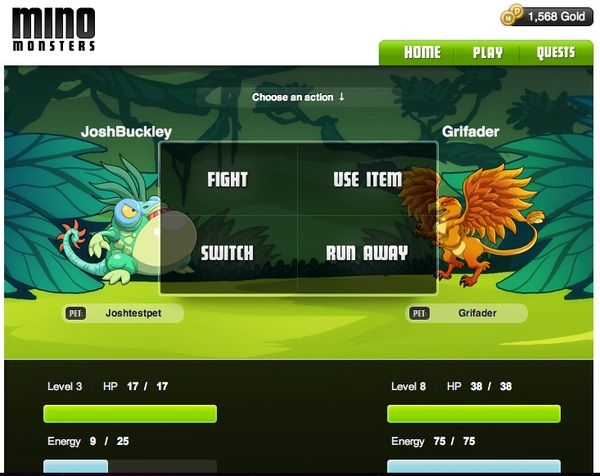 MinoMonsters, juega gratis en Facebook a este nuevo juego inspirado en Pokemon