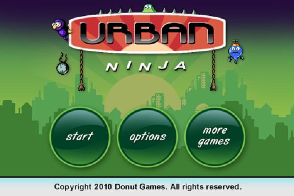 Urban Ninja para iPhone, juego de ninjas gratuito en App Store