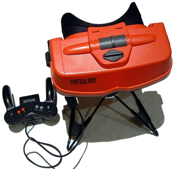Virtual Boy, Nintendo apostó por las 3D en 1995 con su consola Virtual Boy
