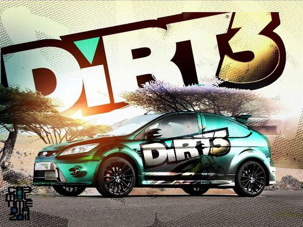 DiRT 3, este juego de Rally incluirá un modo de juego con coche zombi