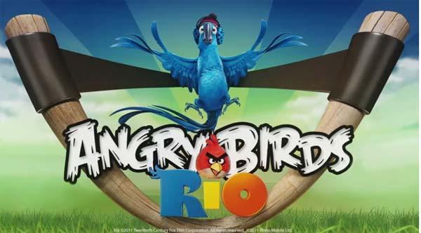Angry Birds Rio, ya ha sido descargado más de diez millones de veces