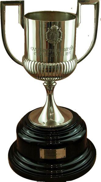 Copa del Rey Trophy by osceanx