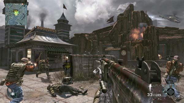 Call of Duty Black Ops, primer ví­deo de Escalation y nuevas capturas