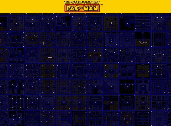 PacMan, juega gratis al comecocos más grande del mundo