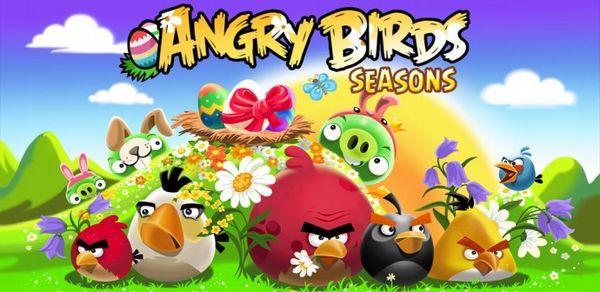 Angry Birds: Easter Eggs, descarga gratis la actualización de Pascua para Angry Birds