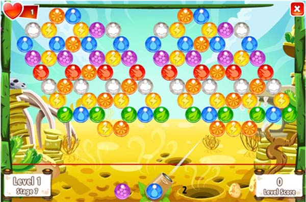 Bubble Island Gratis En Facebook La Version Del Puzzle Bubble