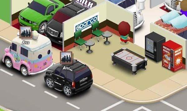 Car Town, el juego gratuito de coches para Facebook