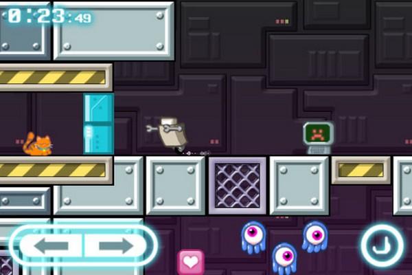 Robot Wants Kitty, descarga gratis por tiempo limitado juegos para iPhone, iPad y iPod