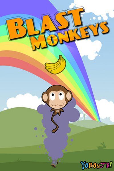 Blast Monkeys, descarga gratis por tiempo limitado este juego para iPhone y iPod Touch