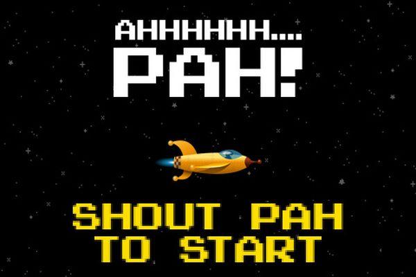 Pah!, nuevo juego de naves para iPhone, iPad y iPod Touch que se maneja con la voz