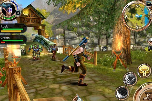 Order & Chaos, Gameloft lanza este nuevo juego de rol para iPhone, iPad y iPod Touch