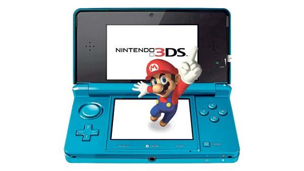 Nintendo 3DS, alcanza los 3,6 millones de unidades vendidas