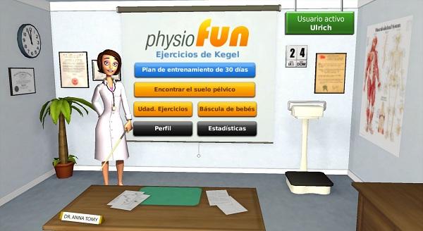 Physiofun: Ejercicios de Kegel, nuevo juego en WiiWare que utiliza la tabla Wii Fit Plus