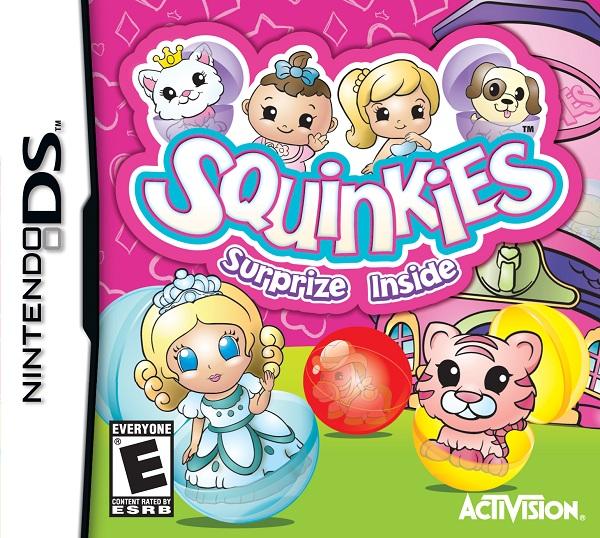 Squinkies para Nintendo DS, juego infantil basado en las pequeñas figuras infantiles