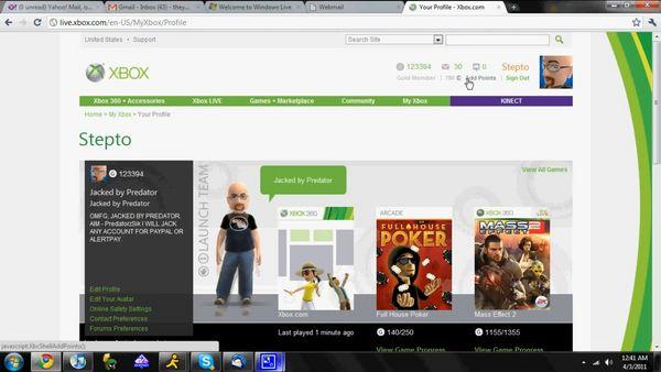 Un pirata consigue robar las cuentas de un ejecutivo de Xbox Live