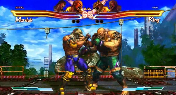 Street Fighter x Tekken, ví­deo con 8 minutos de juego real de Street Fighter x Tekken