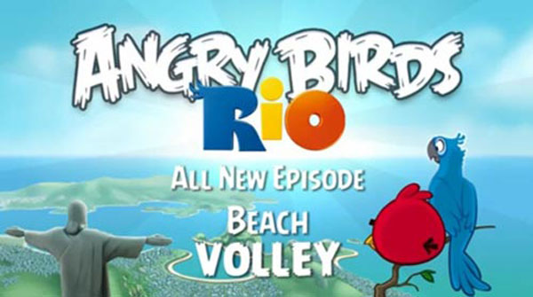 Angry Birds Rio, la actualización Beach Volley ya está disponible