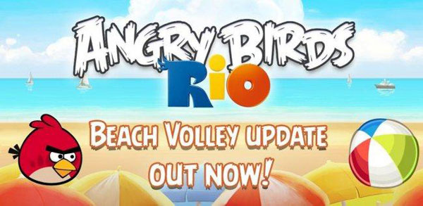 Angry Birds Rio, la nueva actualización Beach Volley ya está disponible en Android Market
