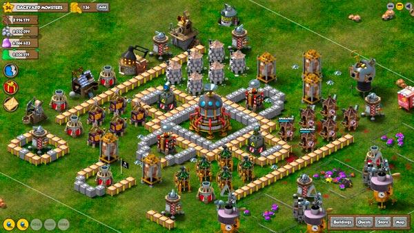 Backyard Monsters, un juego gratis que triunfa en Facebook y Tuenti