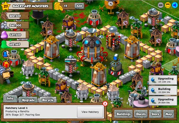 Backyard Monsters, un juego gratis que triunfa en Facebook ...