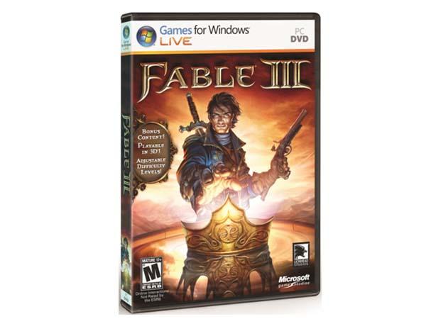 Fable III, hoy sale a la venta su versión para PC
