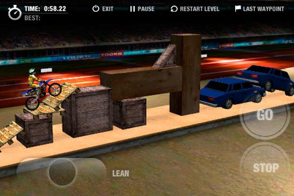 MotoTrialz, descarga gratis este juego para iPhone, iPad y iPod Touch por tiempo limitado