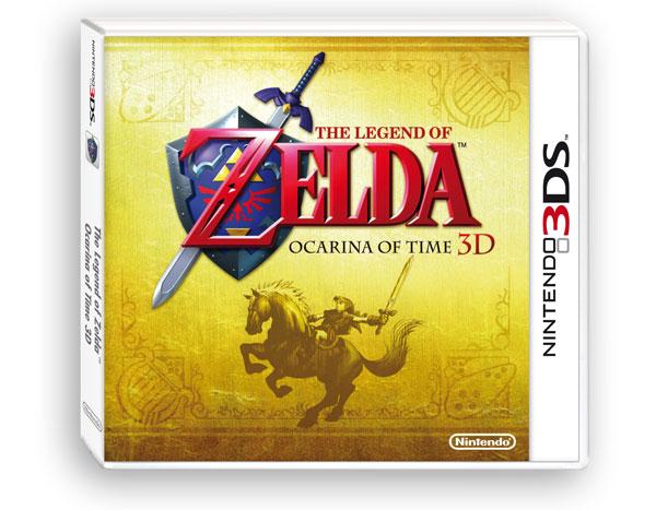 The Legend of Zelda: Ocarina of Time 3D, la reedición ya está disponible para reservar