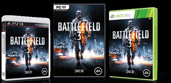 Battlefield 3, los que reserven su edición limitada tendrán gratis el Physical Warfare Pack